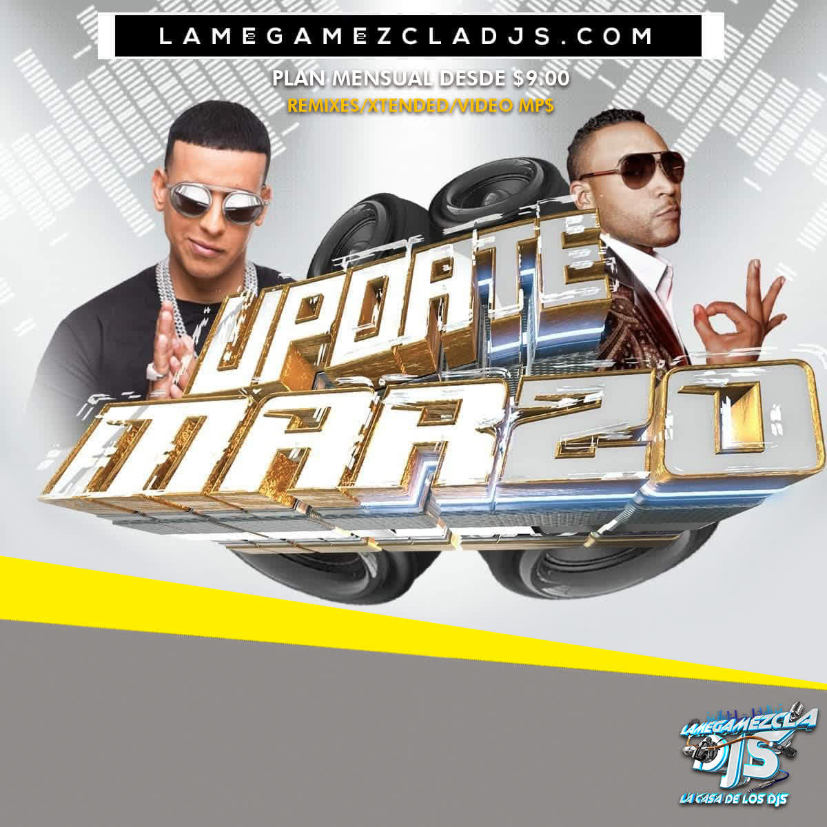 Los Dos Carnales - Home Run ( lamegamezcladjs.comInt & Out) 53 Bpm.